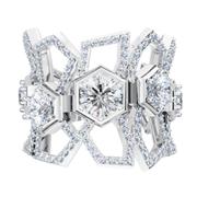 Luminous Diamonds® Be True Ring